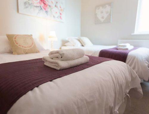 Bedroom Towel Detail