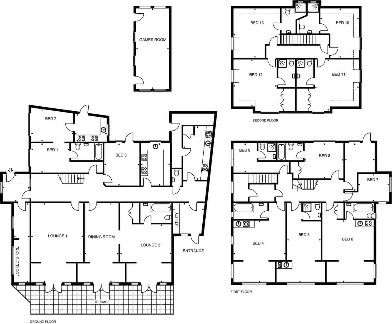 Beach House Hove Floor Plan