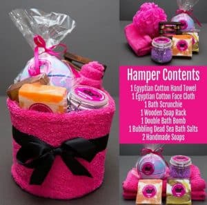 happy soap hamper